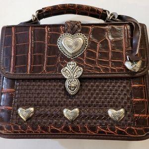 8x10 womens mini briefcase purse